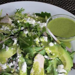 Vinagreta de limón y cilantro