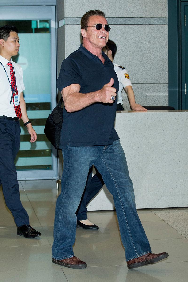 Miralos, Arnold Schwarzenegger