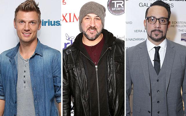 Nick Carter, Joey Fatone, AJ McLean