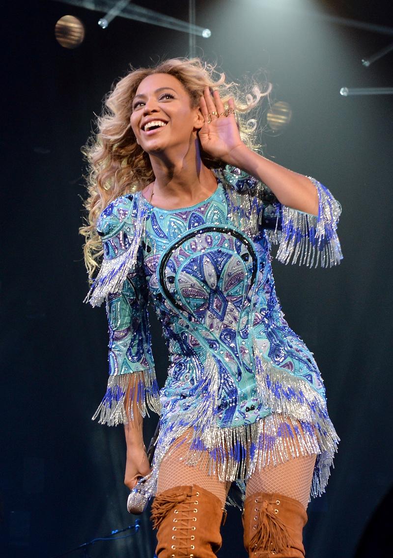 Atuendos de concierto, Beyoncé