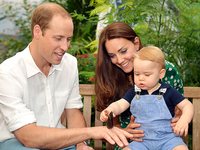 Kate Middleton, príncipe George, príncipe William