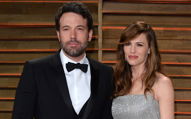 Jennifer Garner y esposo para artículo
