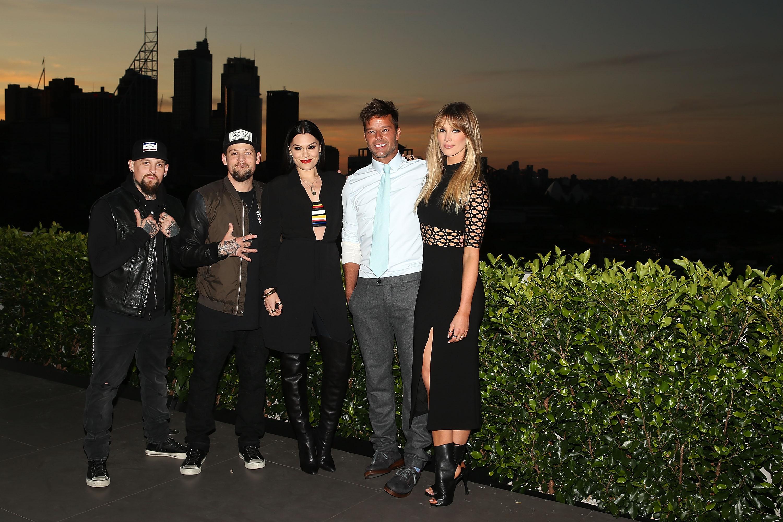 Benji Madden, Joel Madden, Jessie J, Ricky Martin, Delta Goodrem, Míralos
