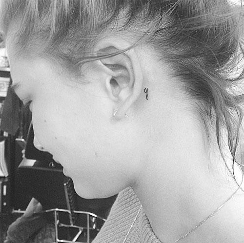 Tatuajes recientes, Hailey Baldwin