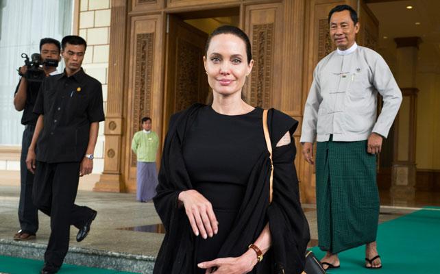 Angelina Jolie para artículo