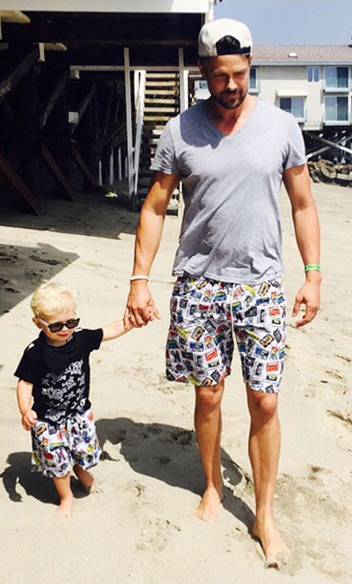 Niños que visten como sus padres, Josh Duhamel, Axl