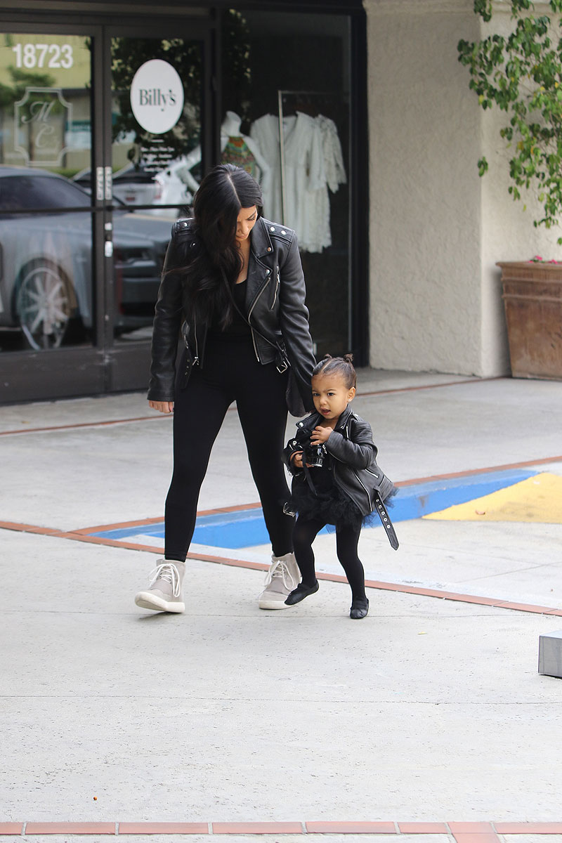 NORTH Y KIM KARDASHIAN
