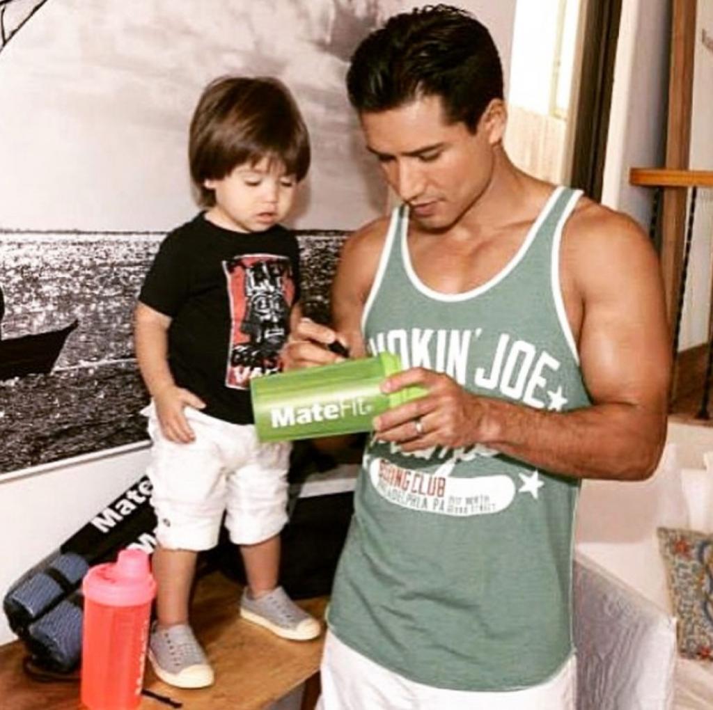 DOMINIC LÓPEZ, bebés en instagram, Mario López