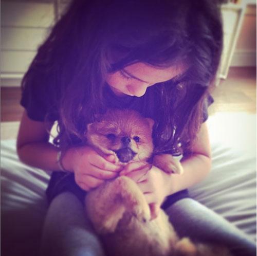 Bebés en Instagram, Thalía, Sabrina Sakaë