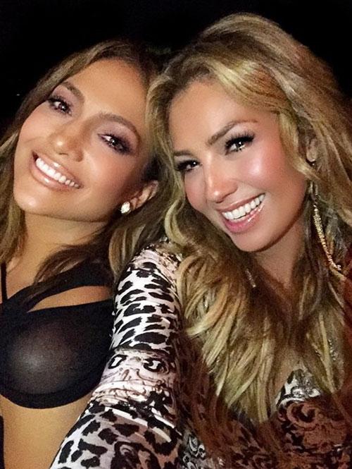 J.Lo, Thalía, Instagram
