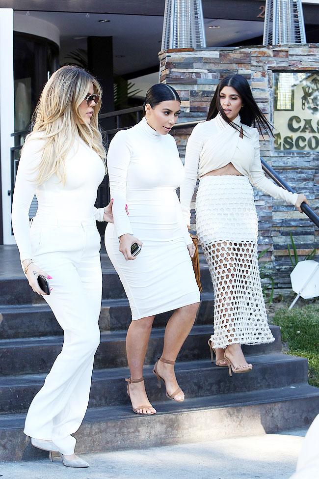 Kim Kardashian, Khloé Kardashian, Kourtney Kardashian, Míralos