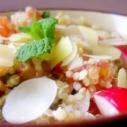 Ensalada de quinoa con rábanos
