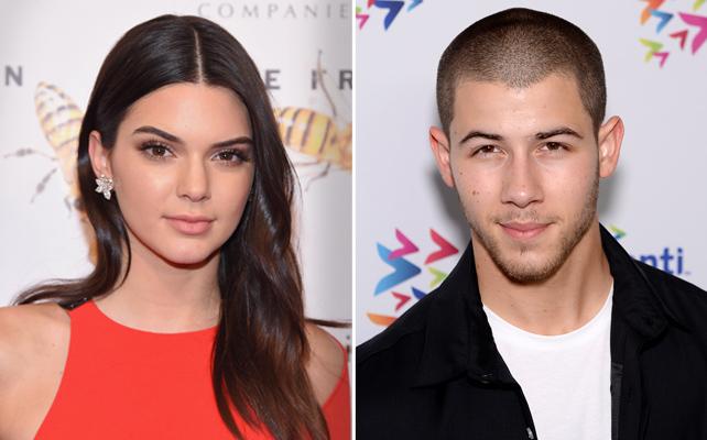 Kendall Jenner y Nick Jonas