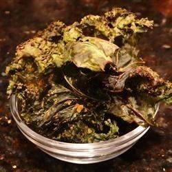 Kale tostado con miel