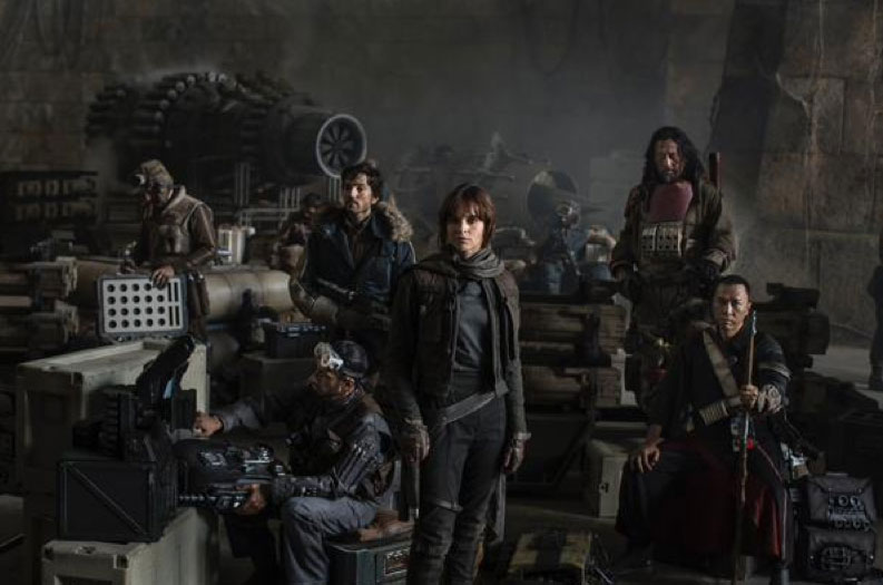 Elenco de la película Star Wars: Rogue One