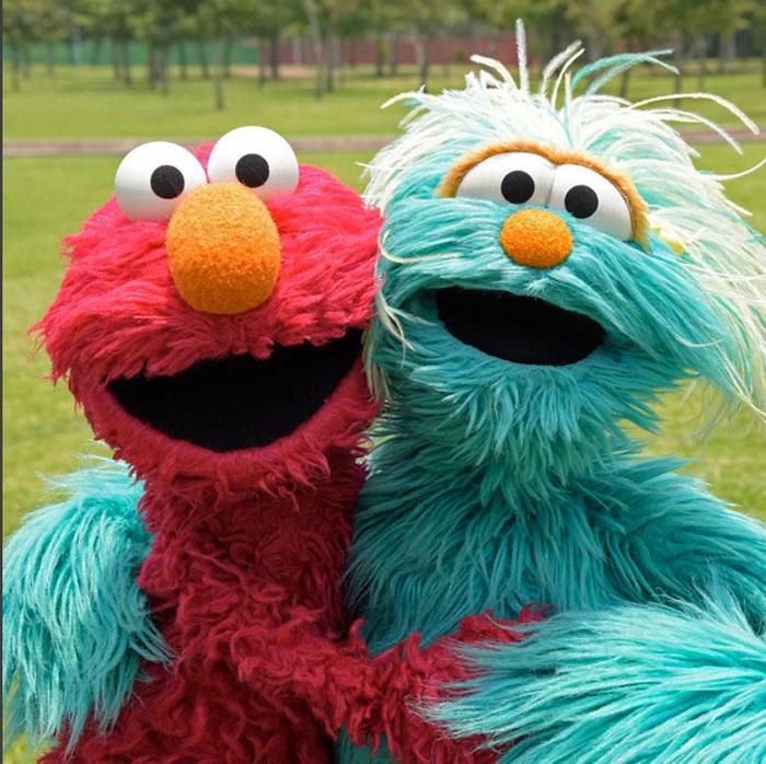 Elmo, Rosita, Sesame Amigos