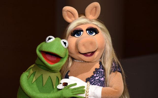 Rana Rene y Miss Piggy para articulo