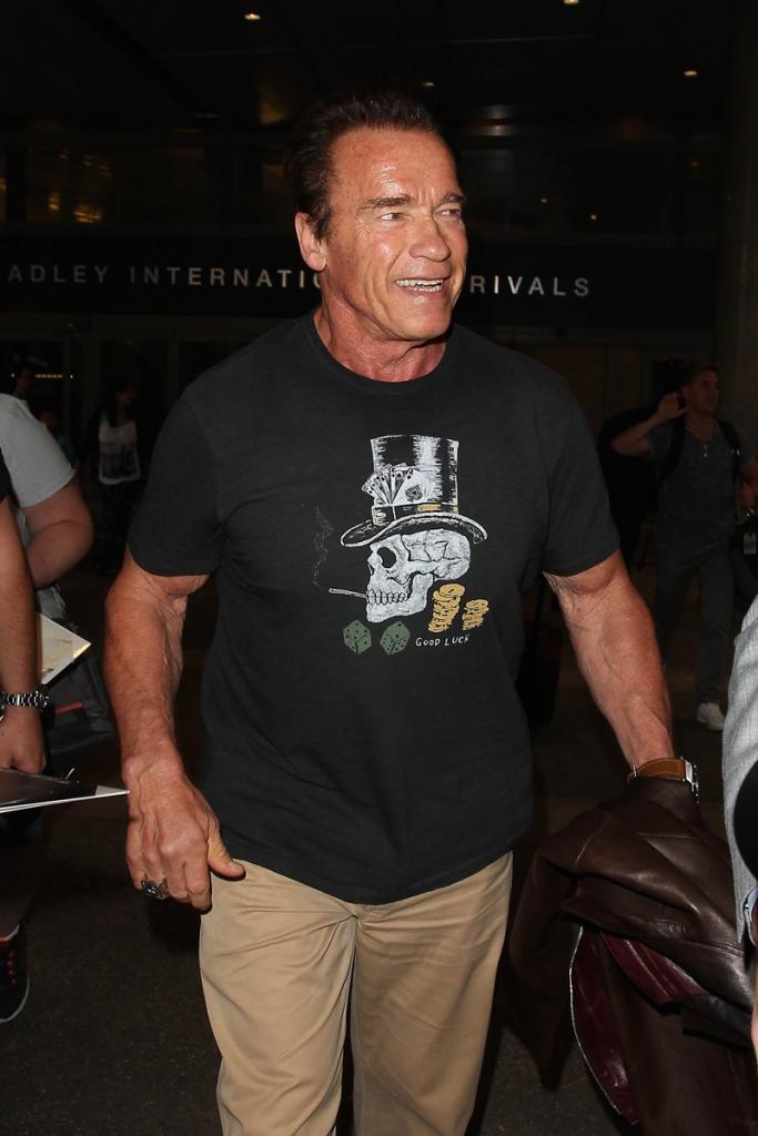 Famosos, infidelidad, niñeras, Arnold Schwarzenegger