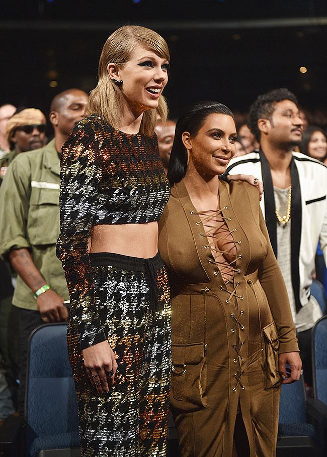 Taylor Swift, Kim Kardashian, VMA 2015