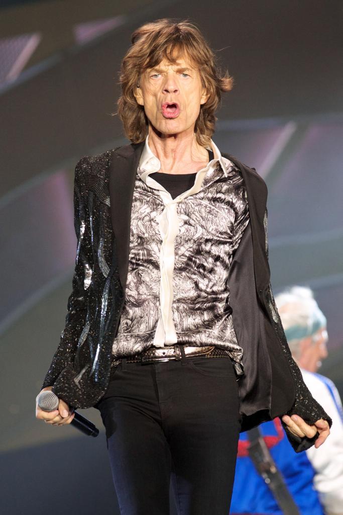 Famosos, infidelidad, niñeras, Mick Jagger