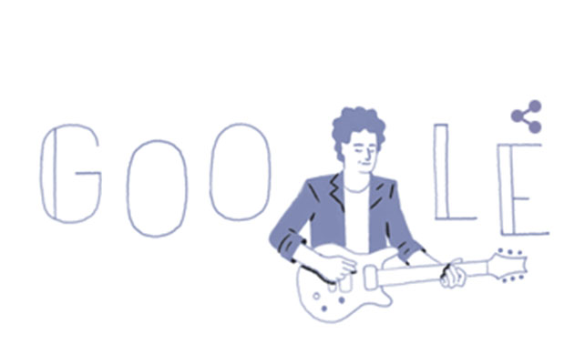 Gustavo Cerati, doodle, google,