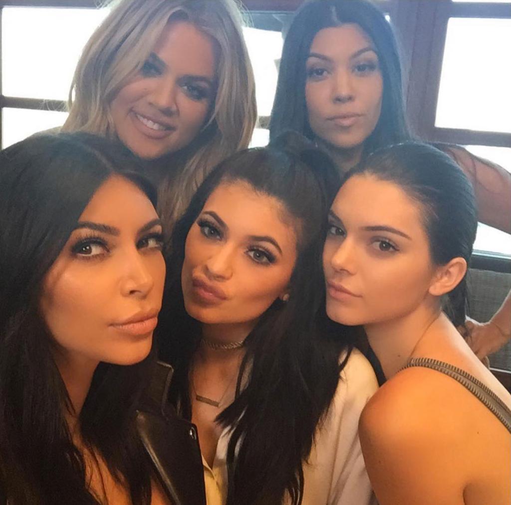 Khloé Kardashian, Kourtney Kardashian, Kim Kardashian, Kylie Jenner, Kendall Jenner