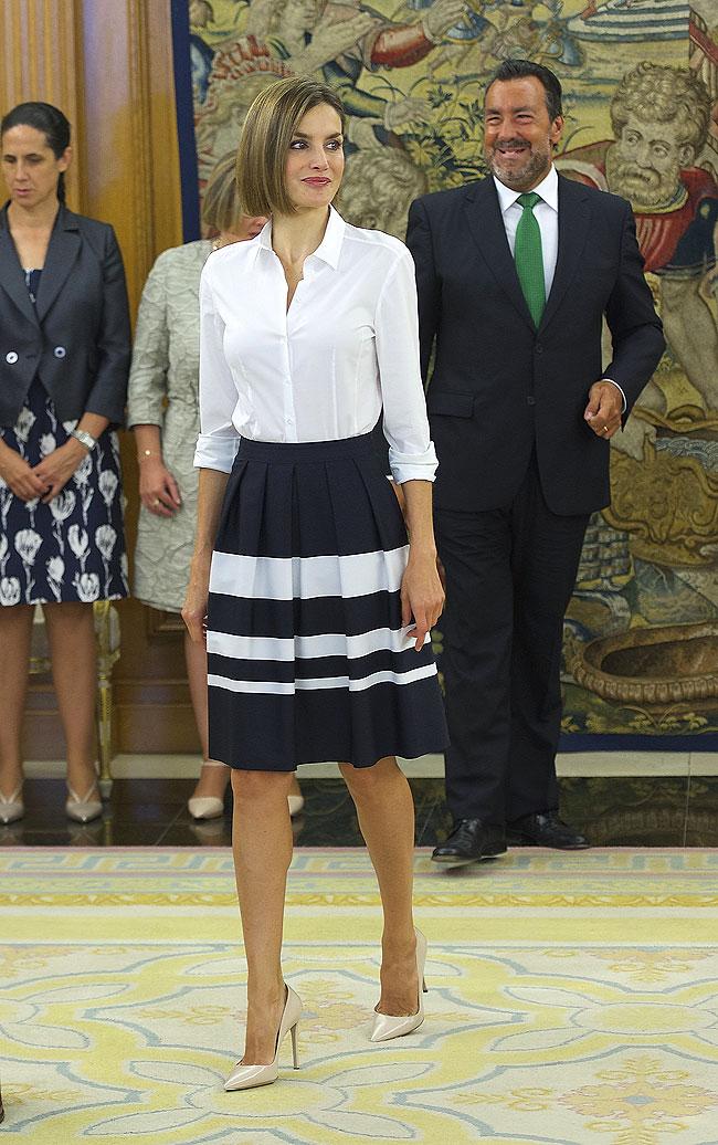 Leticia Ortíz, look del día