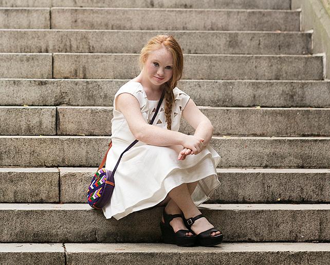 Madeline Stuart, modelo con síndrome de Down desfilará este domingo en la semana de la moda en Nueva York