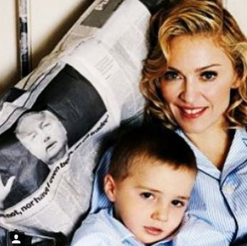 Madonna, instagram TBT