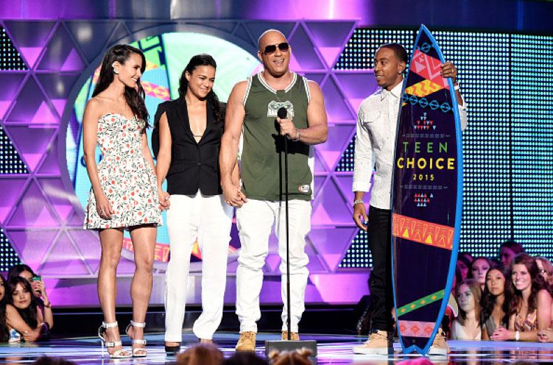 Jordana Brewster, Michelle Rodriguez, Vin Diesel, Ludacris