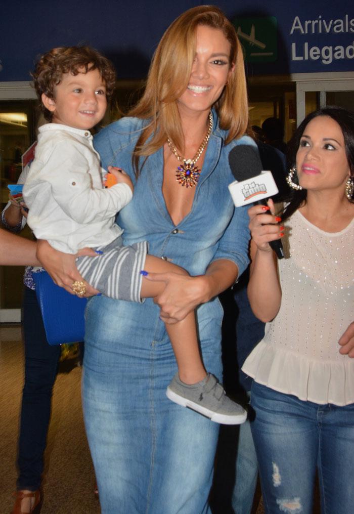 Zuleyka Rivera con Sebastian Barea
