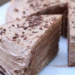 Betún de merengue de chocolate
