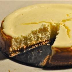 Pastel de queso con leche condensada