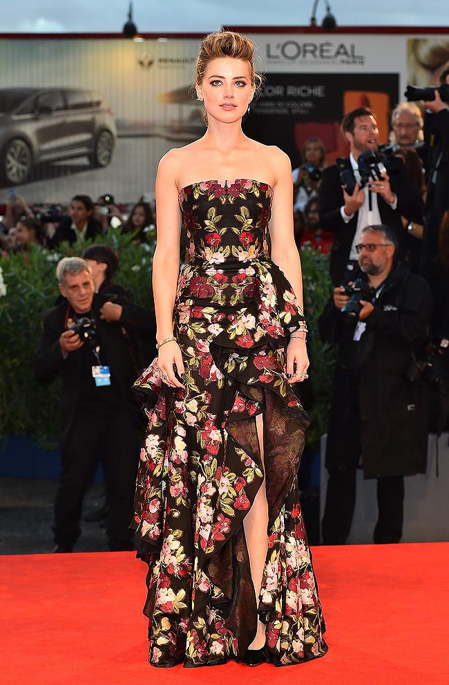 Flores, festival venecia, Cine, tendencia, Amber Heard