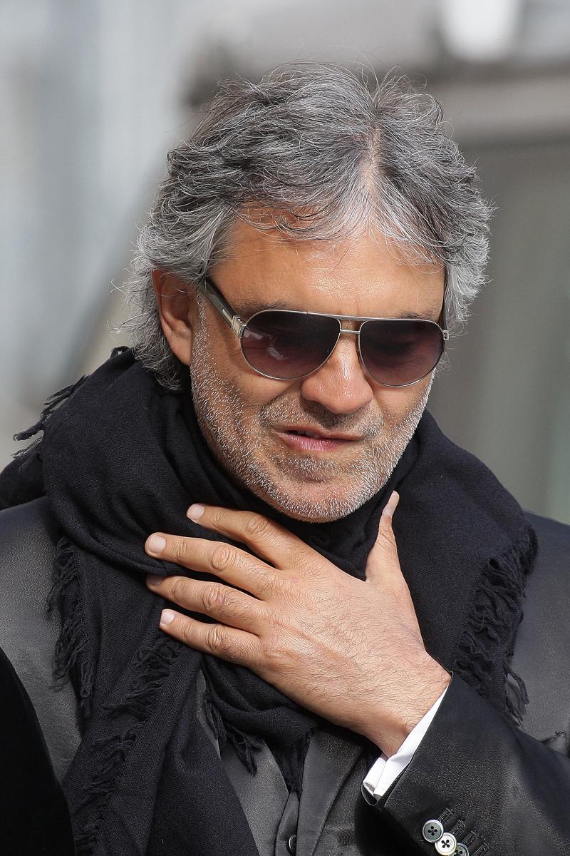 Andrea Bocelli, 10 cosas