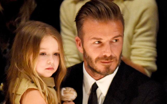 Harper y David Beckham