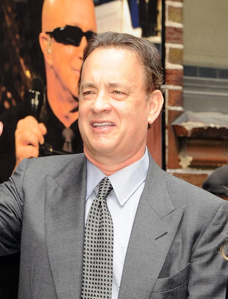 Abuelos famosos, Tom Hanks
