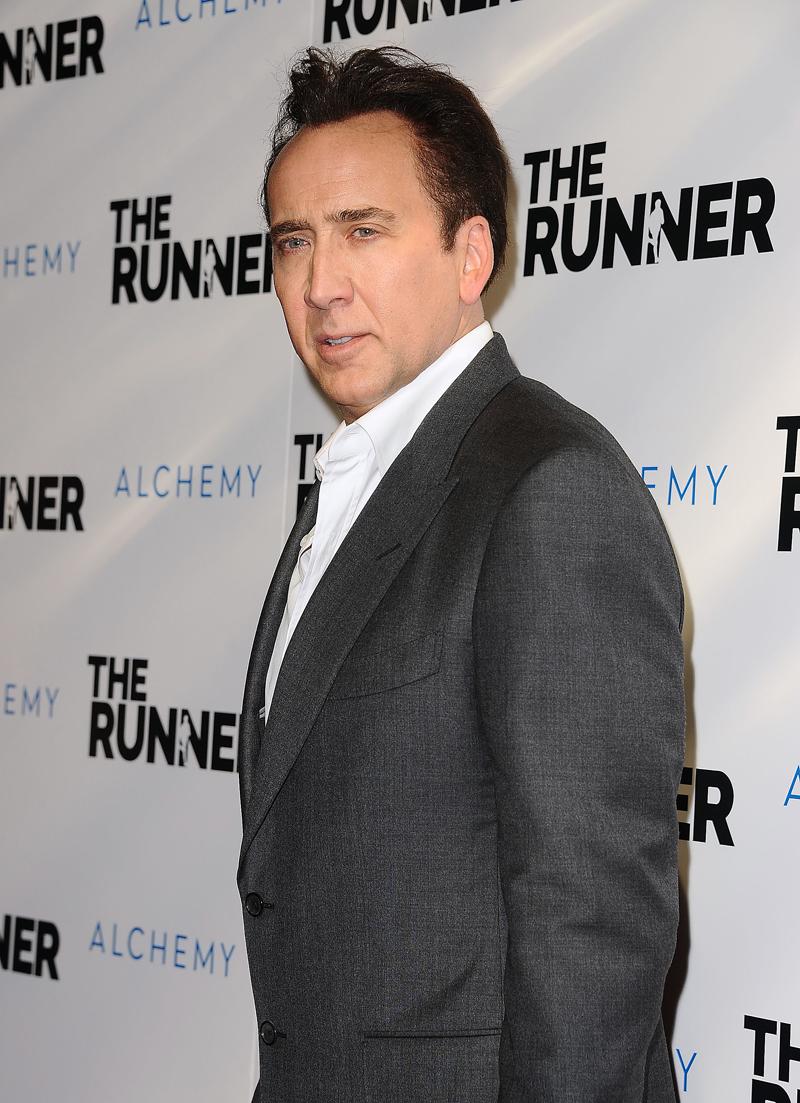 Abuelos famosos, Nicolas Cage