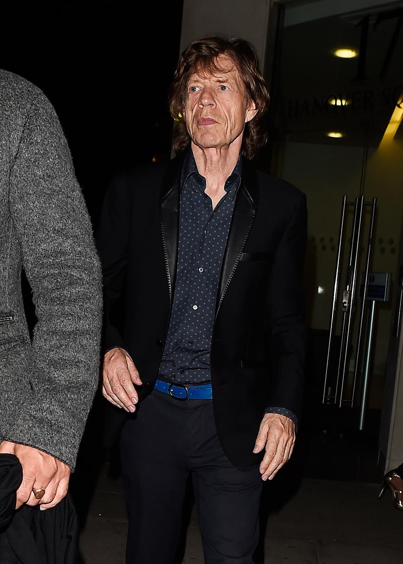 Abuelos famosos, Mick Jagger