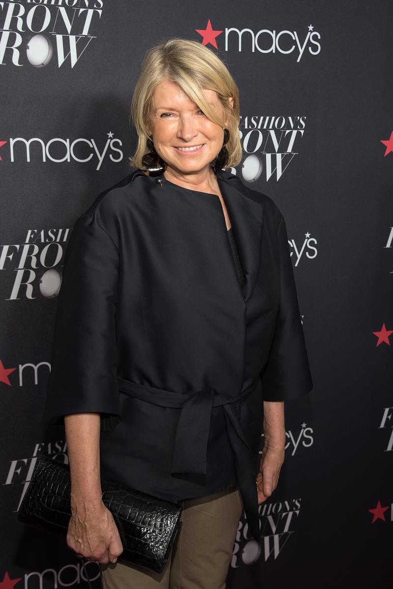 Abuelos famosos, Martha Stewart