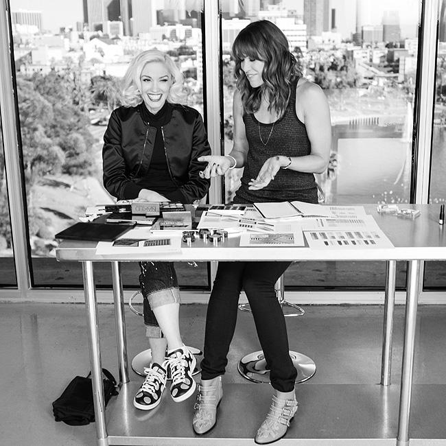Gwen Stefani, maquillaje, urban Decay, colaboracion