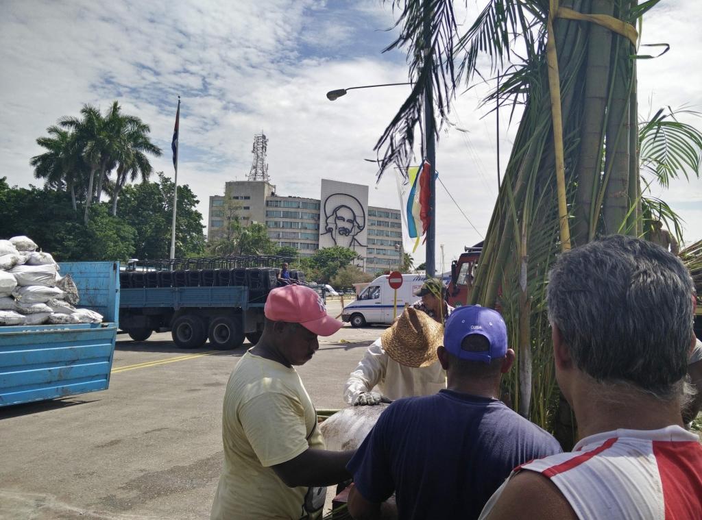 Plaza de la Revolucion en Habana, Cuba
