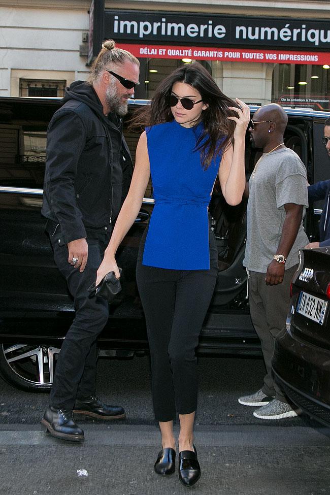 Kendall Jenner, look del día