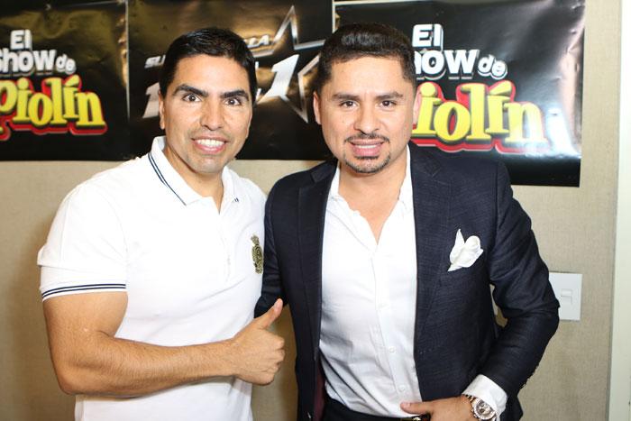 "Eddie ""Piolín"" Sotelo, Larry Hernández"