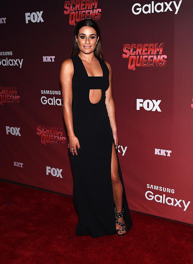 El look del dúa, Lea Michele