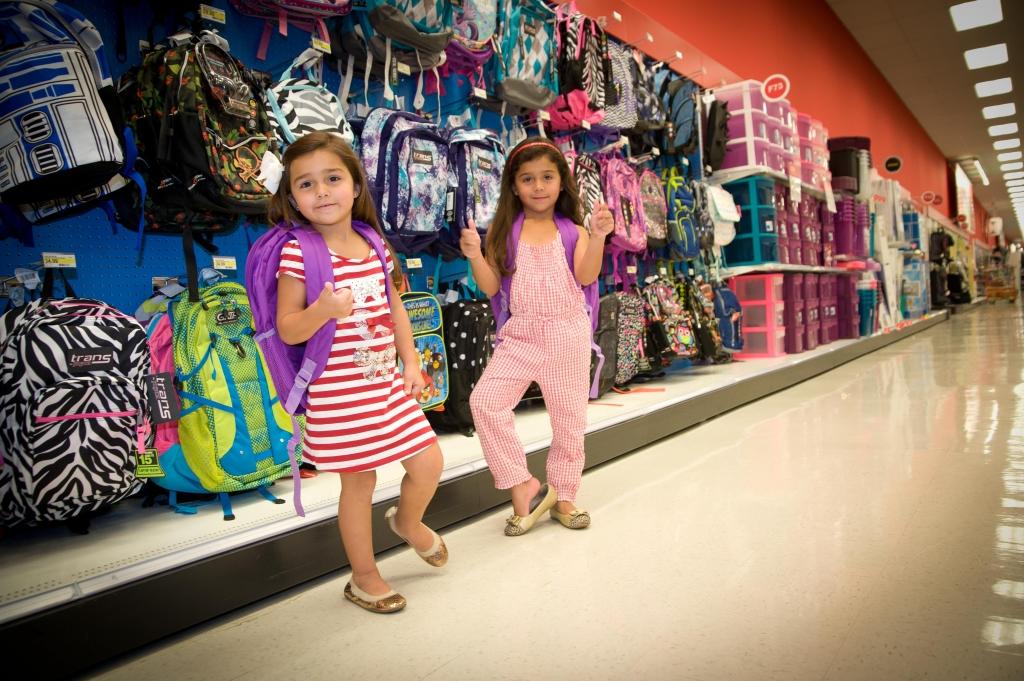 Las hijas de Bárbara Bermudo Mia Andrea y Camila Andrea.
