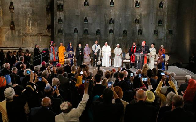 Papa Francisco, 9/11 Memorial y Museo