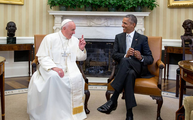 Papa Francisco y Barack Obama