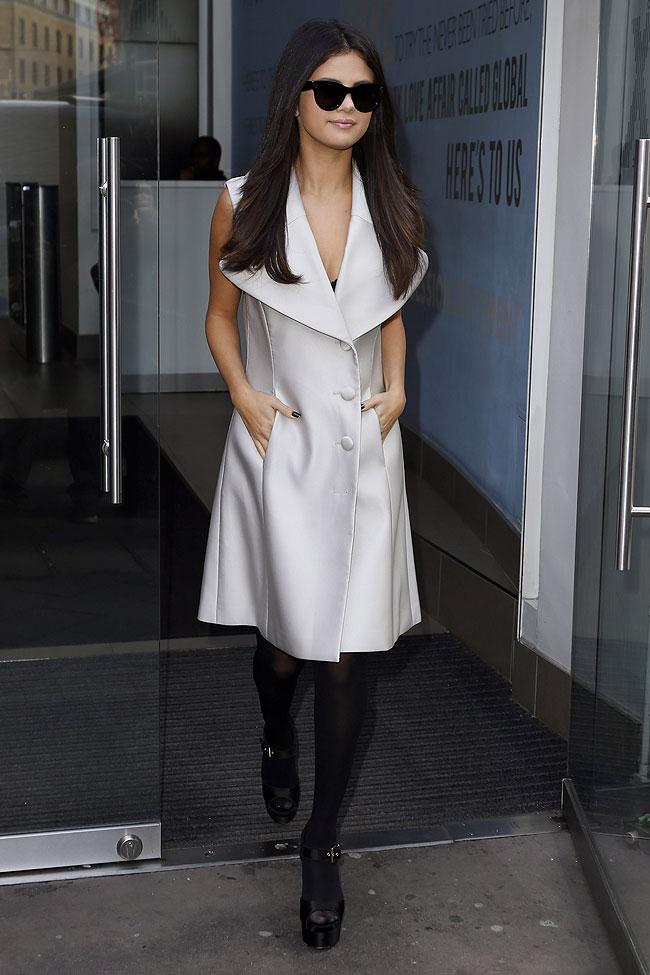 Selena Gómez, look del día