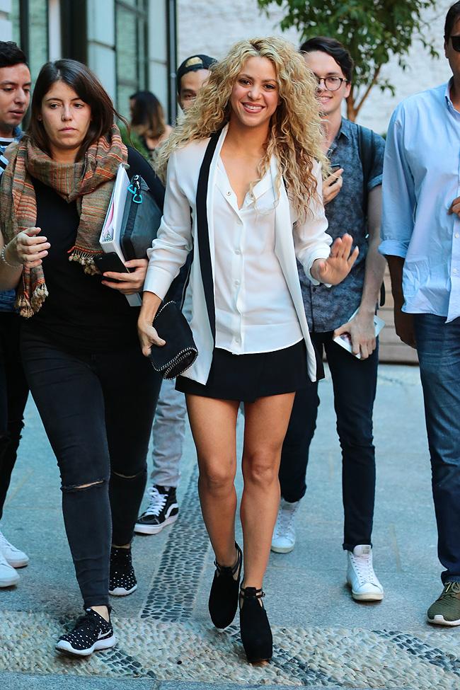 El look del día, Shakira